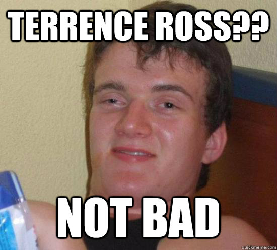 terrence ross?? not bad - terrence ross?? not bad  Really High Guy