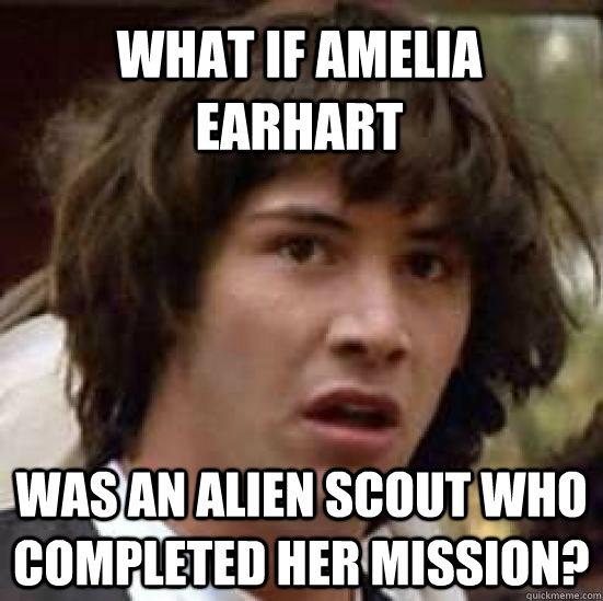 Amelia earhart jokes