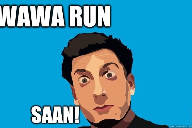 Wawa run SAAN!