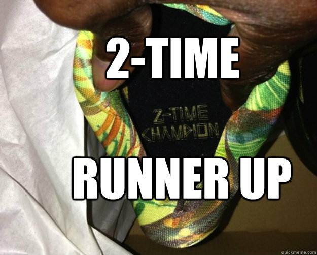 2-time  runner up