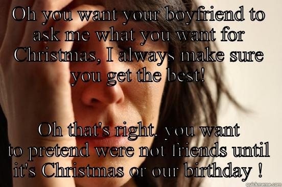 what to ask your boyfriend for christmas