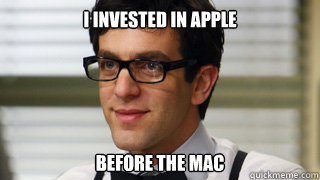 I invested in apple before the mac - I invested in apple before the mac  Business Hipster