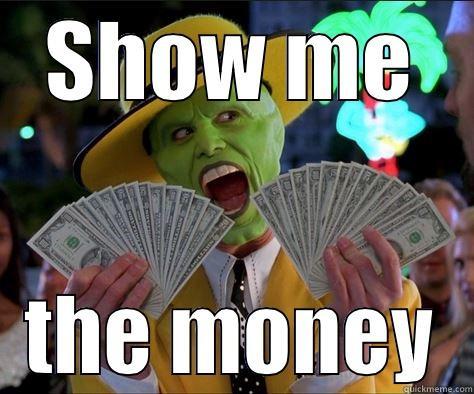 crazy man at the kliros... - SHOW ME THE MONEY How I feel