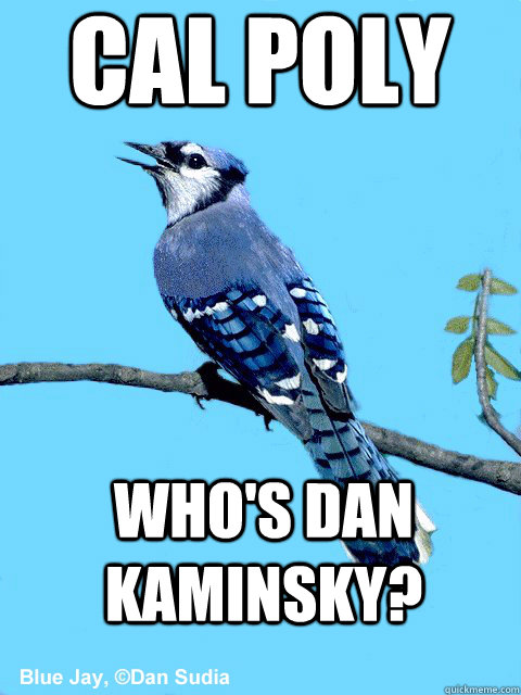 Cal Poly Who's Dan Kaminsky? - Cal Poly Who's Dan Kaminsky?  Blue Team Bird