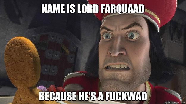 lord farquaad essay