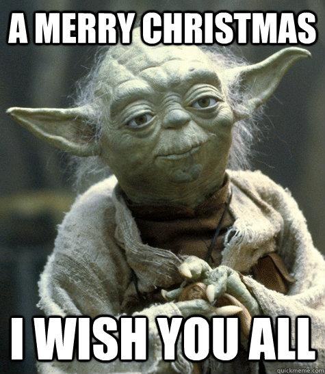 a merry christmas i wish you all - Funny Merry Christmas Meme