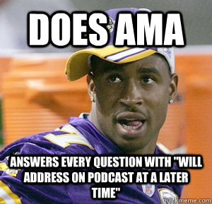 Does ama answers every question with
