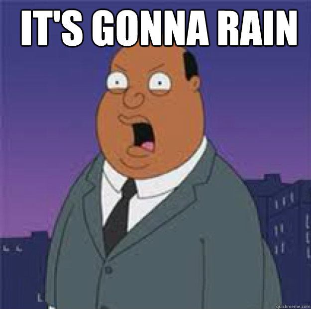 It's gonna rain  - It's gonna rain   Ollie Williams