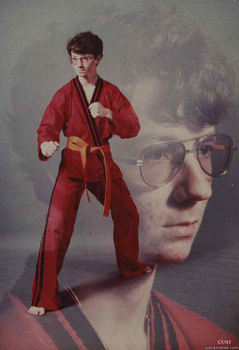 CUNT   Karate Kyle