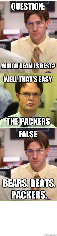Packers Vs Bears Memes Quickmeme