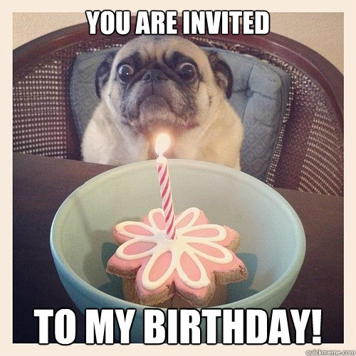 You are invited To my Birthday!