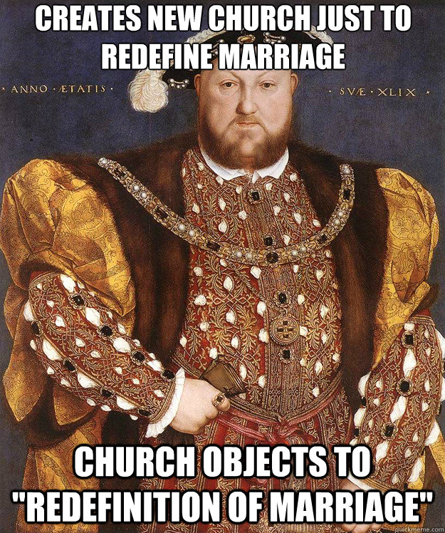 Creates new church just to redefine marriage Church objects to