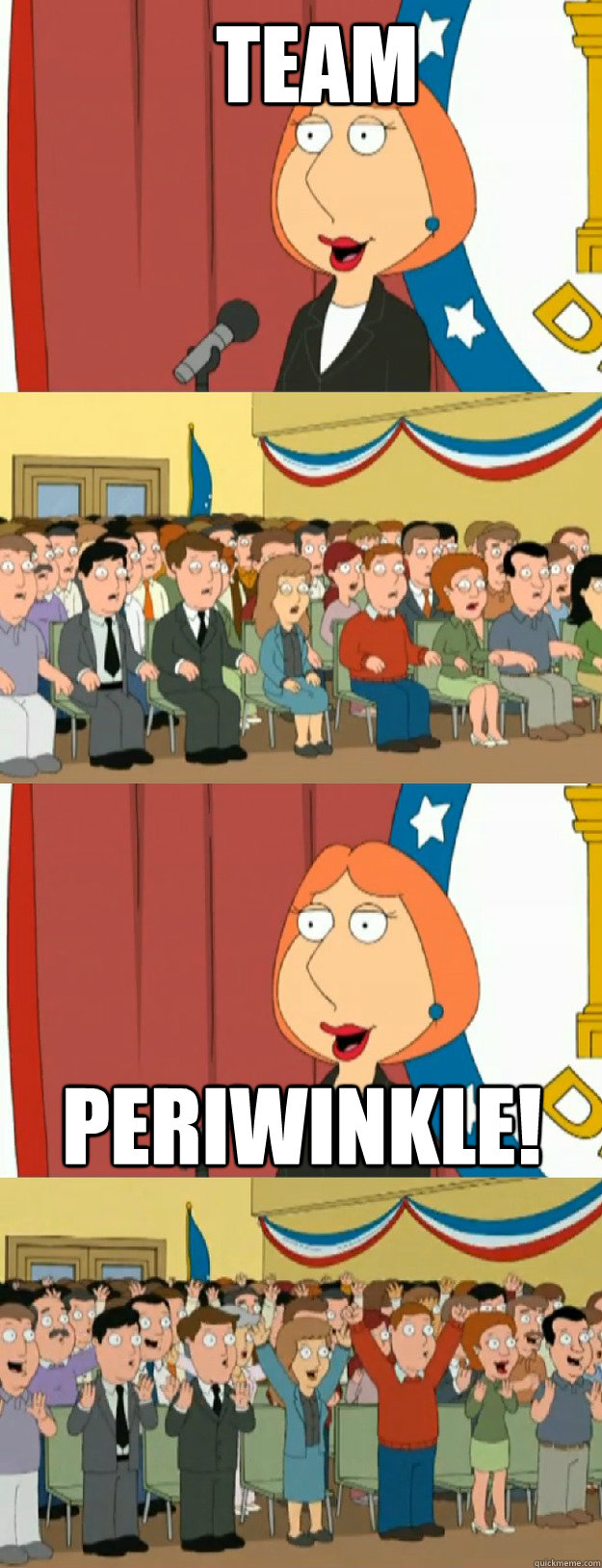 team PERIWINKLE! - team PERIWINKLE!  Lois Griffin
