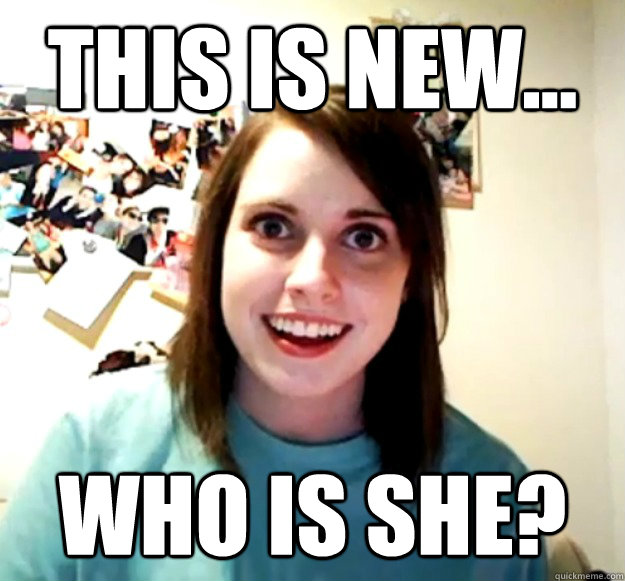 this is new... Who is she? - this is new... Who is she?  Misc