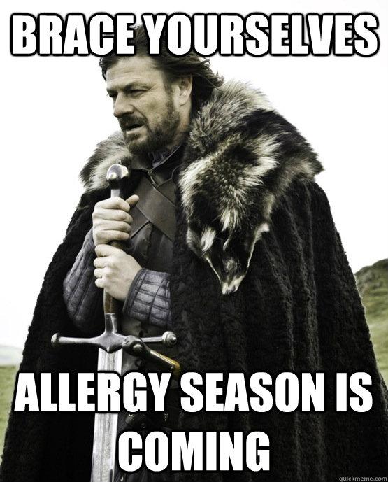 Allergy Season Meme from Quickmeme