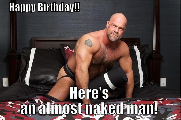 Funny happy birthday naked foto 769