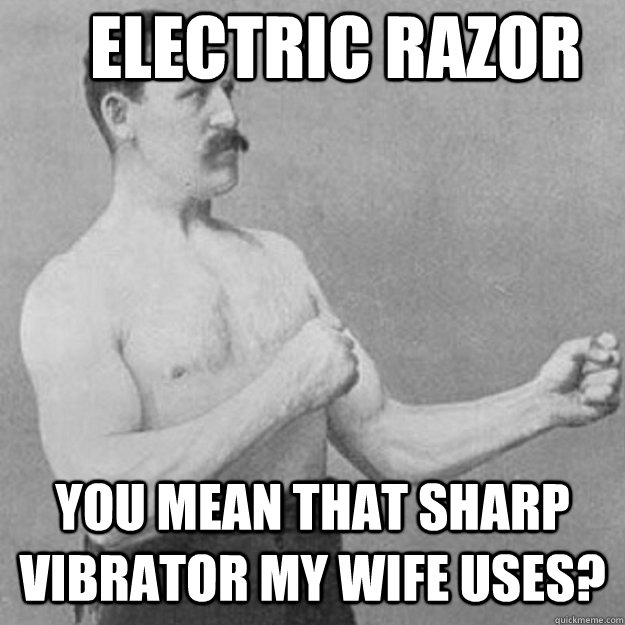 my wife uses a vibrator