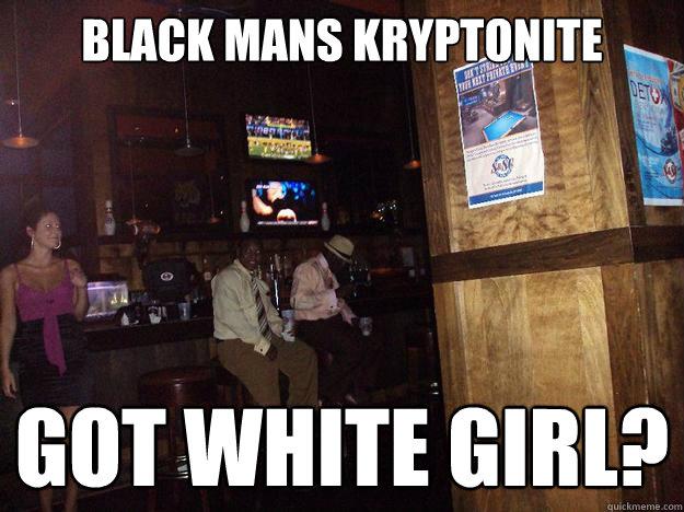 black mans and white girl