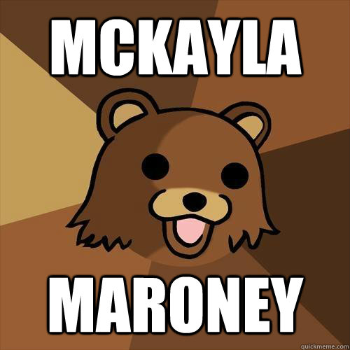Mckayla maroney - Mckayla maroney  Pedobear