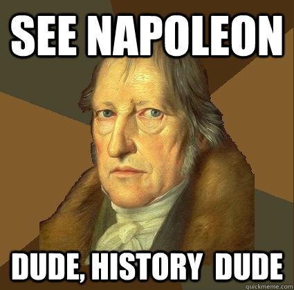 see napoleon dude, history  dude