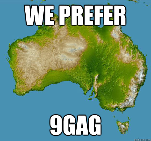 We prefer 9gag