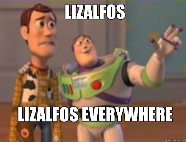 Lizalfos  Lizalfos everywhere