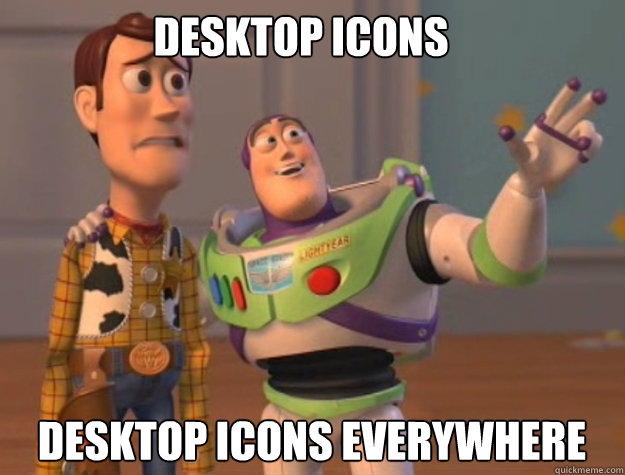 Desktop icons desktop icons EVERYWHERE