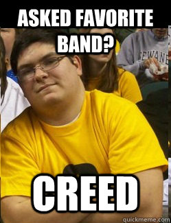 Asked Favorite Band? CREED
