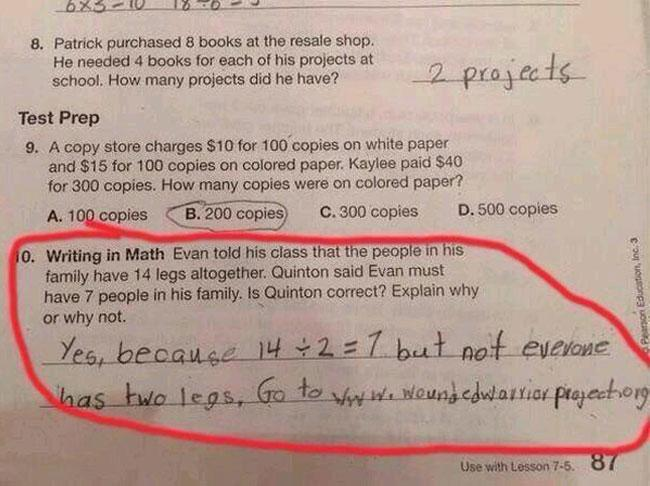 This Kid Knows How To Properly Answer A Question... -   Misc