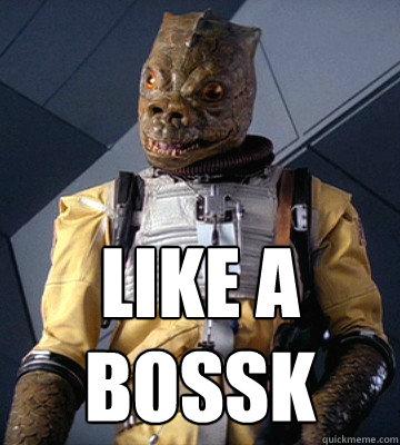Like A BOSSK - Like A BOSSK  Bossk