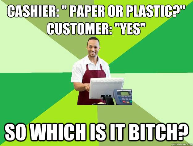Cashier: