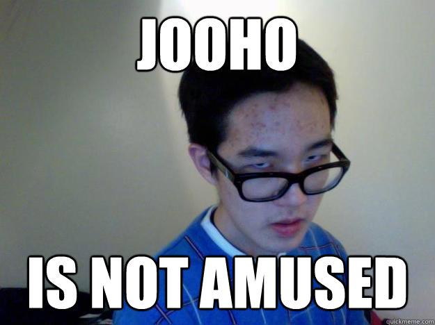 Jooho Is not amused - Jooho Is not amused  Misc