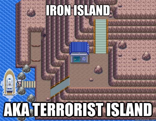Iron island aka terrorist island - Iron island aka terrorist island  Misc