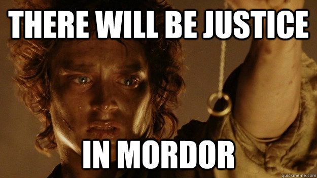 There Will be justice In Mordor - There Will be justice In Mordor  Coheed Interpretations