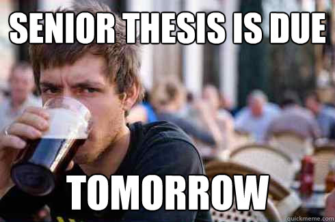 Thesis problems