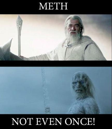 What happened to you, Gandalf?! -   Misc