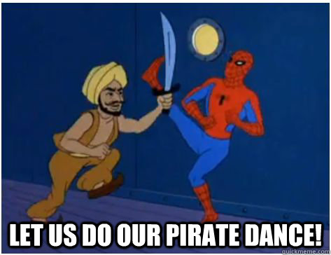 Let us do our pirate dance! -  Let us do our pirate dance!  Misc