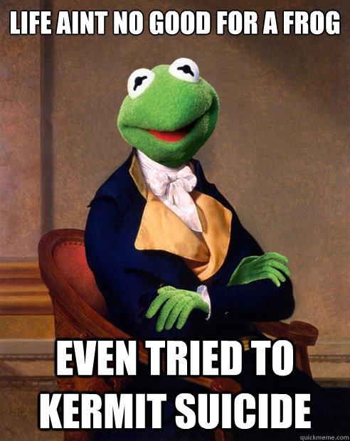 depressed frog memes | quickmeme