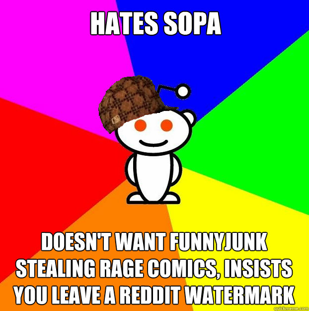 Hates Sopa Doesnt Want Funnyjunk Stealing Rage Comics Insists You