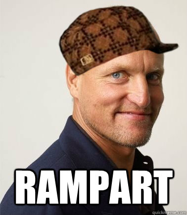 RAMPART  Scumbag Woody Harrelson