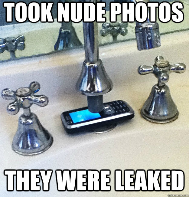 took nude photos they were leaked - took nude photos they were leaked  Tapped Phone