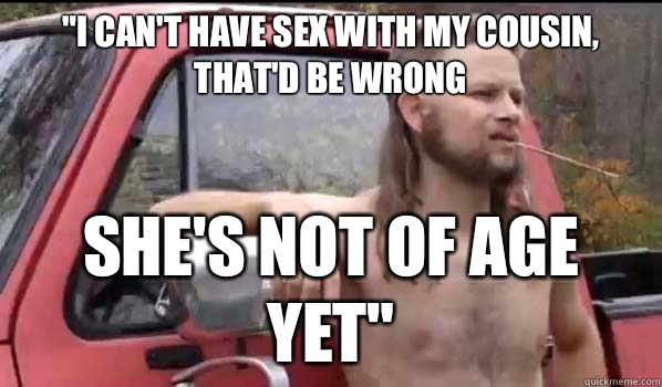 Indefinitely not should i have sex with my cousin congratulate