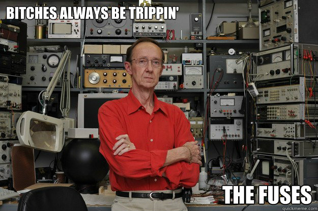Bitches Always Be Trippin U0026 39  The Fuses - Nerd Swagger