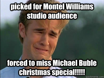 picked for Montel Williams studio audience forced to miss Michael ...