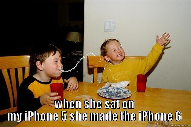 new iphone 6 -  YOUR MOMMA IS SO FAT WHEN SHE SAT ON MY IPHONE 5 SHE MADE THE IPHONE 6 yo mama is so fat