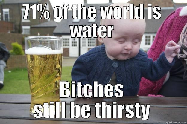 Drunk Lots Of Water Still Thirsty 61