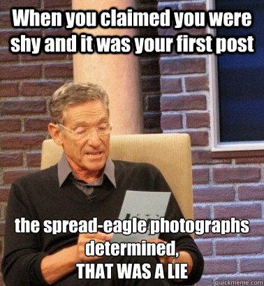 Spread eagle meme