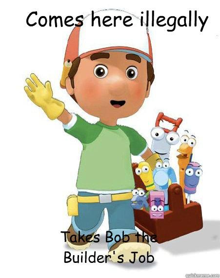 comes here illegally takes bob the builder s job misc Light Owl Art Grandma Glasses Clip Art