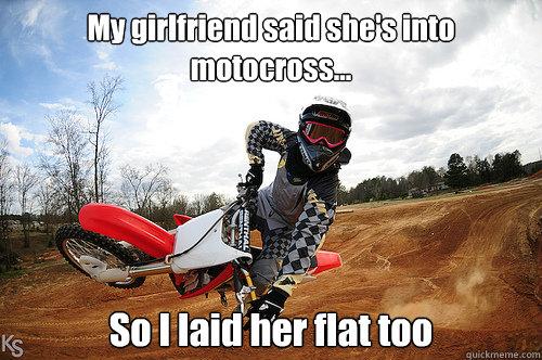 dating a motocross guy