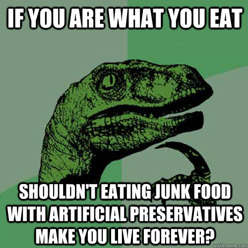 Funnyjunk Memes : The gallery for gt no junk food quotes